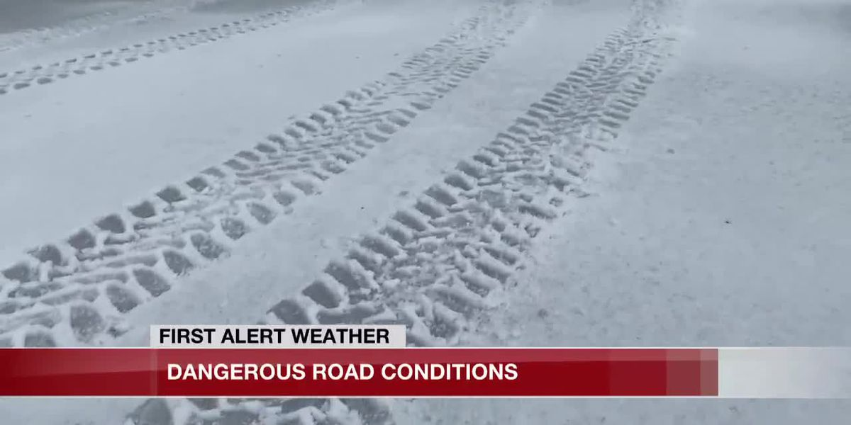 SWLA authorities urge residents to stay off icy roads