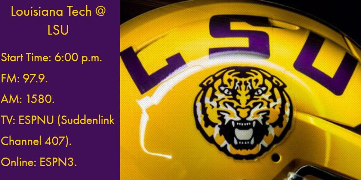 LSU takes on Louisiana Tech tonight