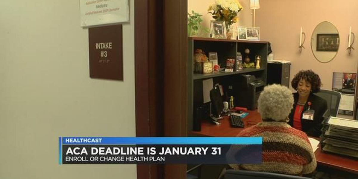 Deadline to enroll in Affordable Care Act is January 31