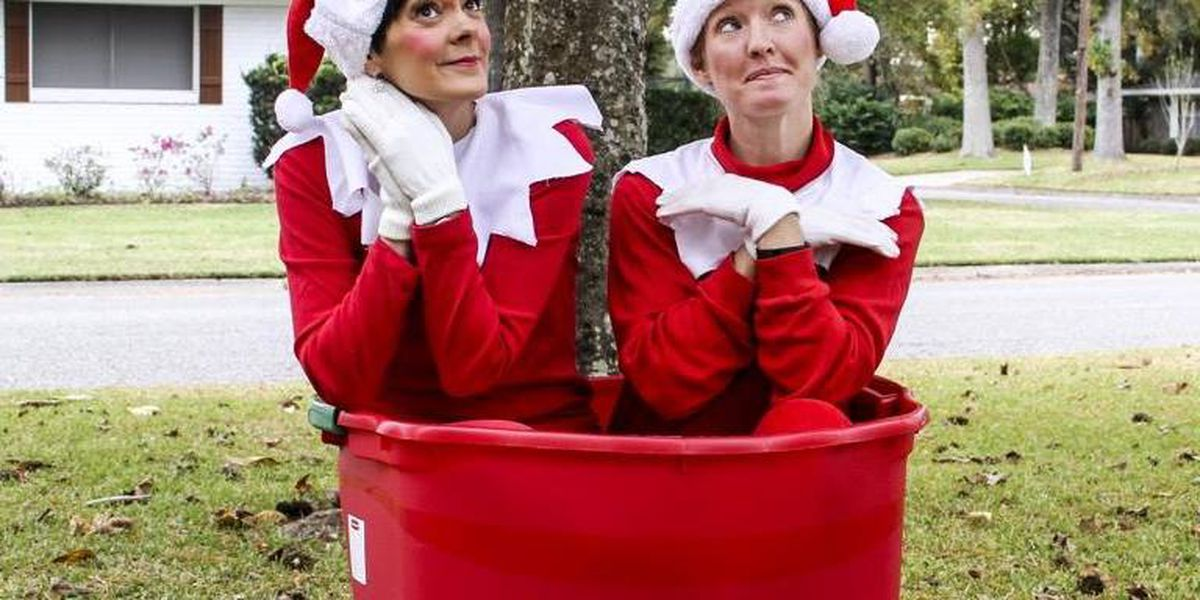 Two elves take their adventures off the shelf in Southwest Louisiana