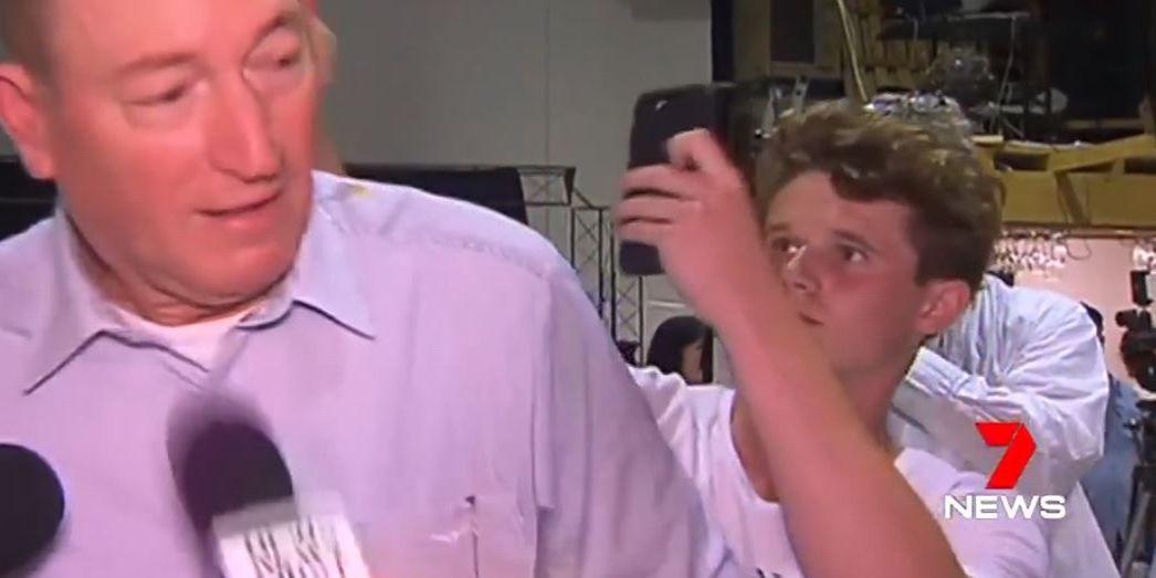 Watch: Teenager smashes egg on Australian senator, who blamed NZ massacre on immigration policies