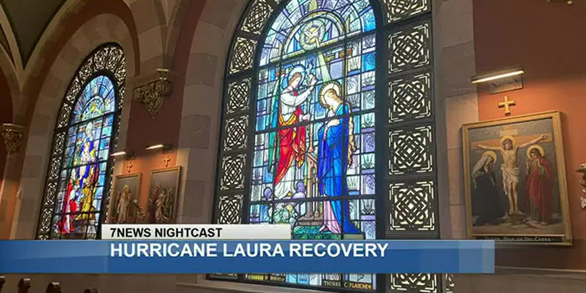 Local cathedral stands the test of Laura