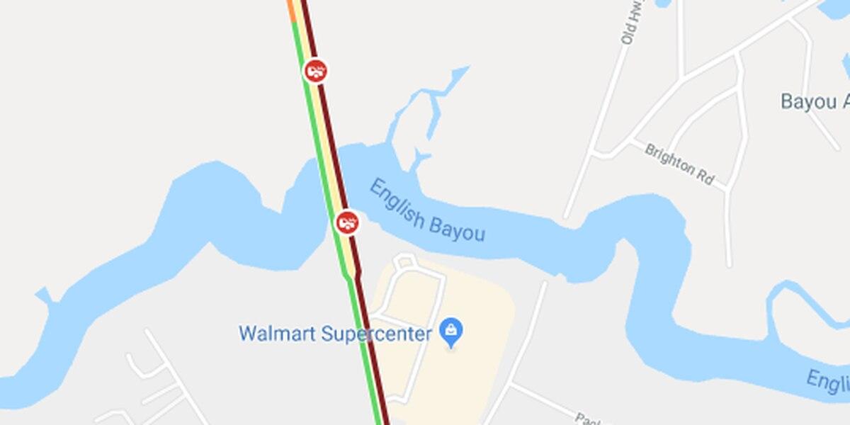 UPDATE: Traffic cleared on Calcasieu River Bridge