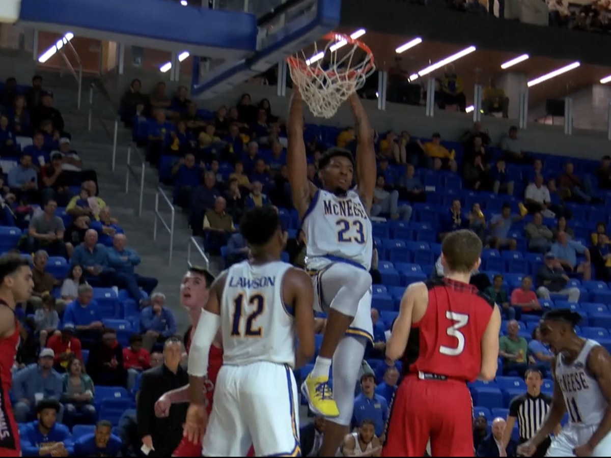 Defense leads Pokes to third straight SLC win, 72-56 over UIW
