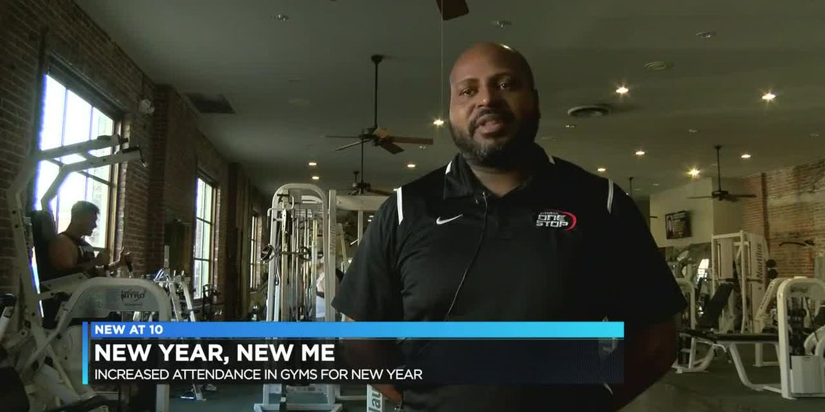 Anticipated gym rush for new year