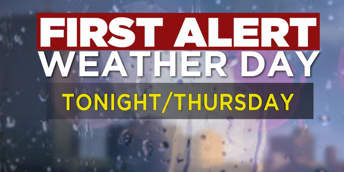 First Alert Weather Day: Tornado Watch for portions of SWLA