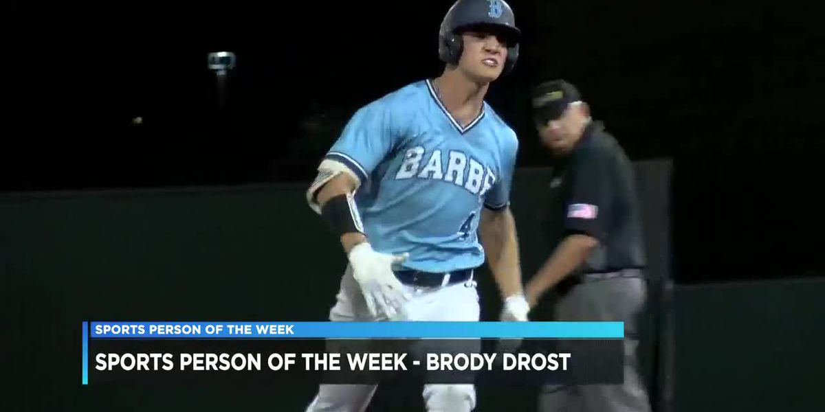 Sports Person of the Week - Brody Drost