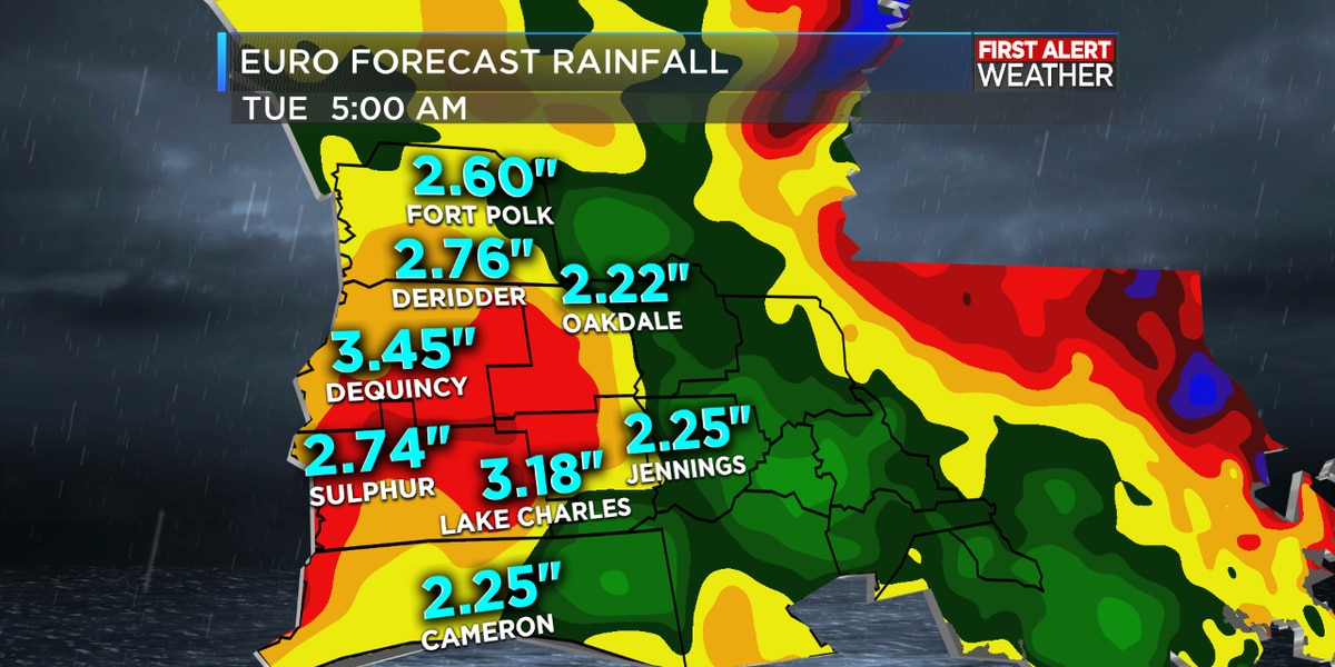 First Alert Forecast: Afternoon storms possible today with more heavy rain later this week