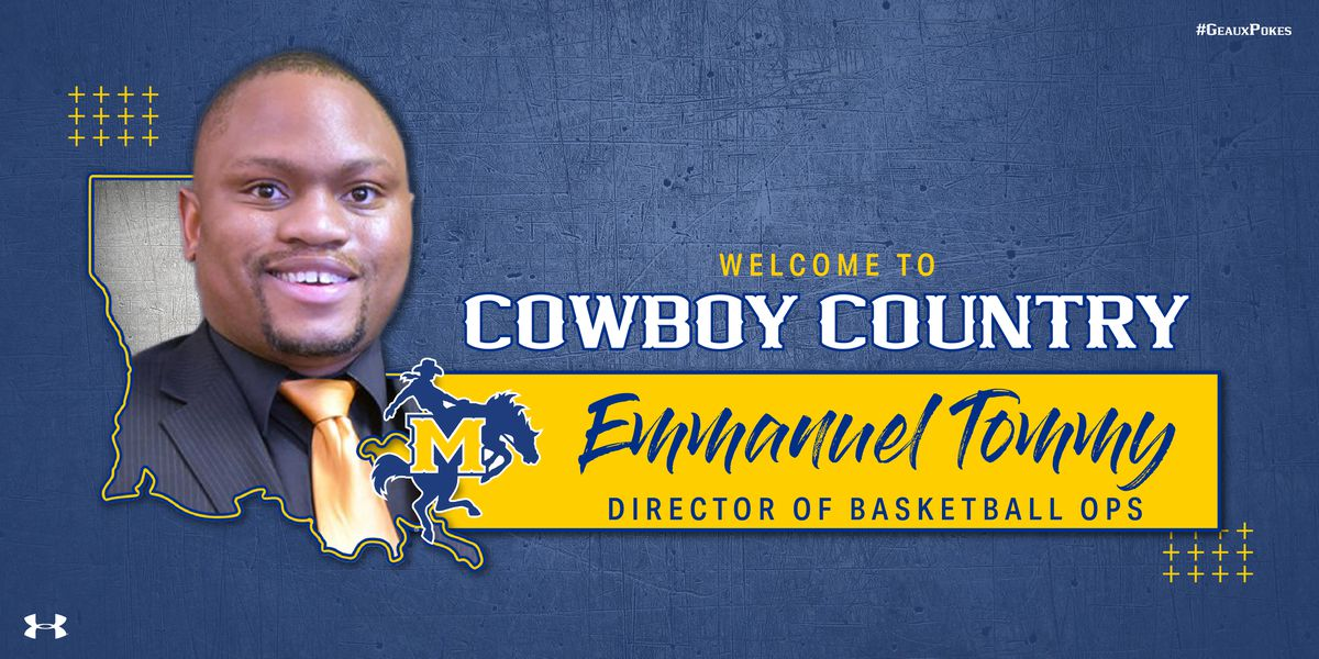 Emmanuel Tommy joins Cowboy Basketball as Director or Operations