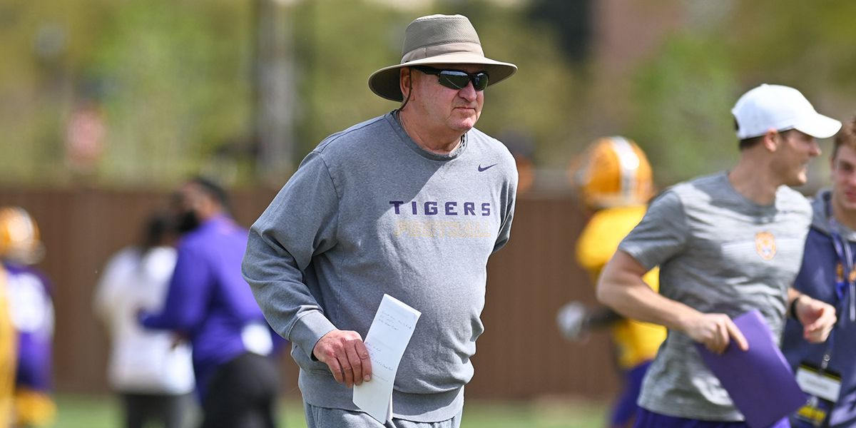 'No pub!' - Ensminger is a true LSU Tiger