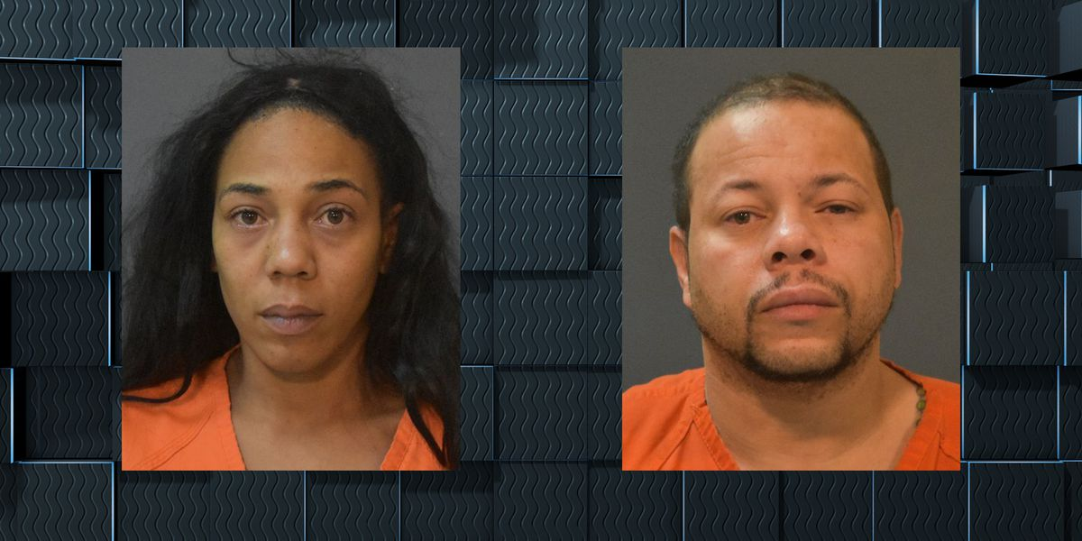 Authorities say vehicle burglary investigation leads to arrest of couple for illegal possession of firearms