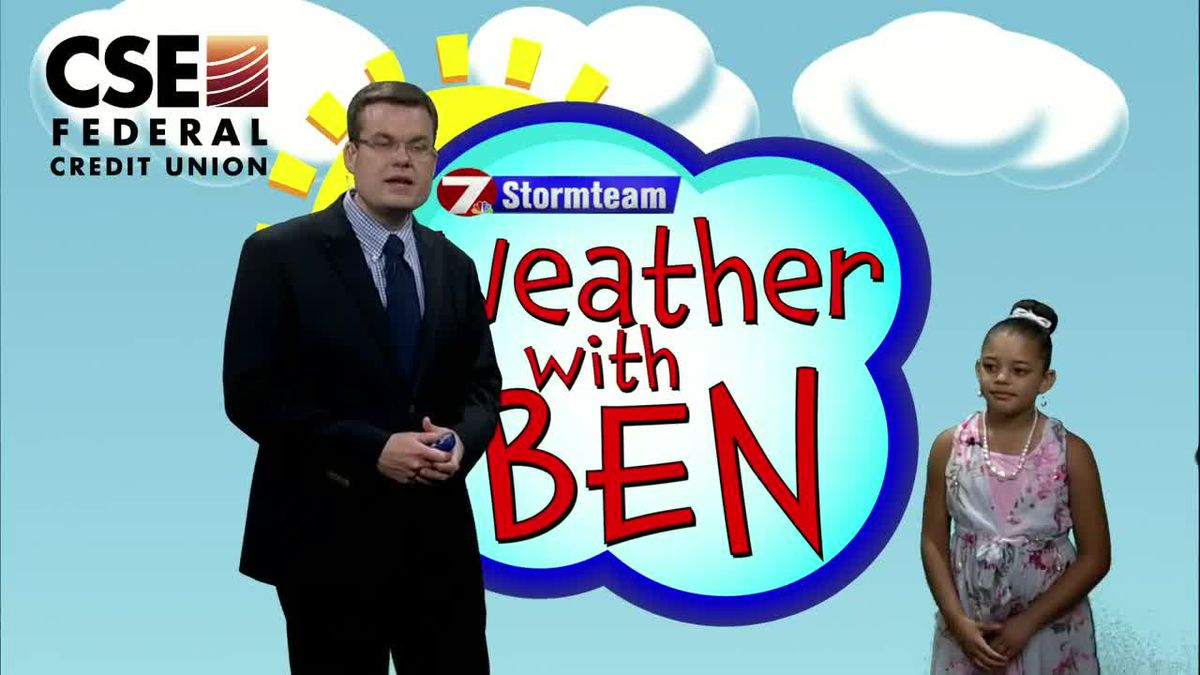 WEATHER WITH BEN: Aaleah