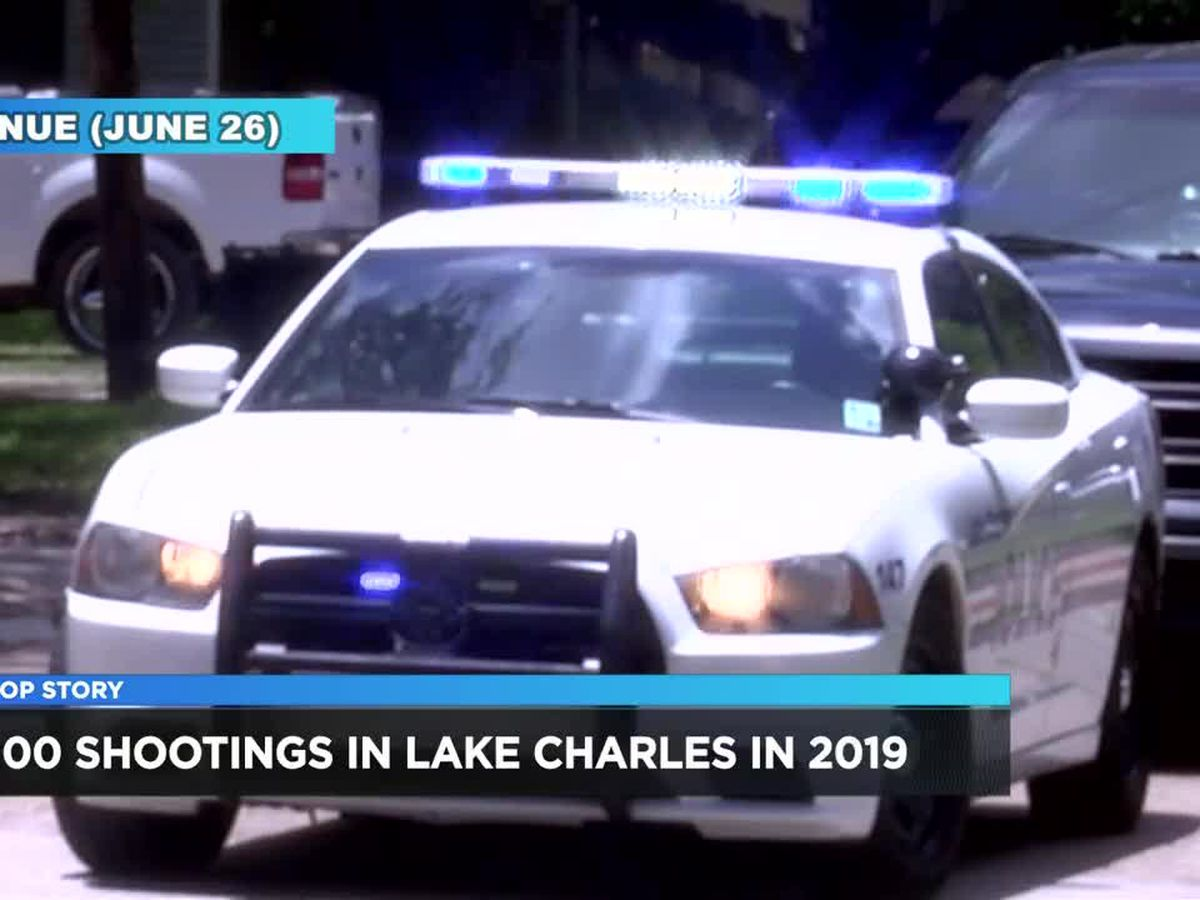 Lake Charles Police investigate over 100 shootings in 2019