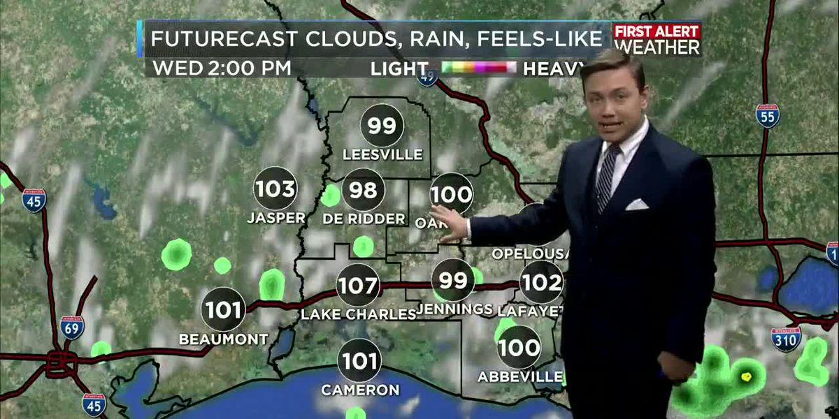 First Alert Forecast: Back to a typical summer time weather pattern