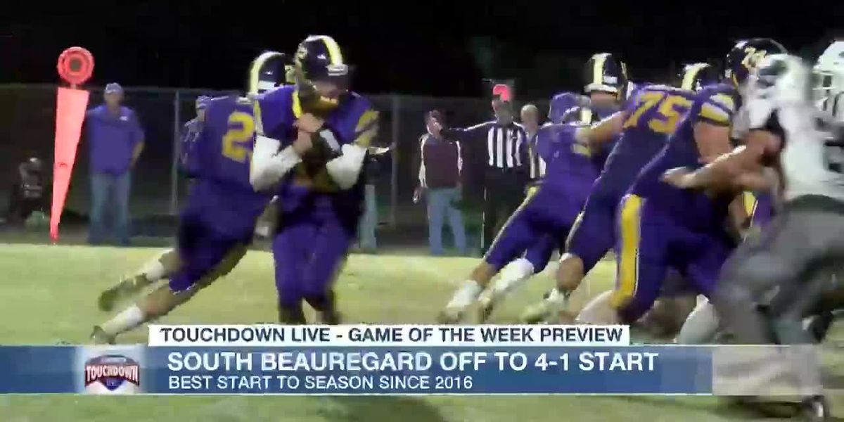 South Beauregard prepares for undefeated Jennings