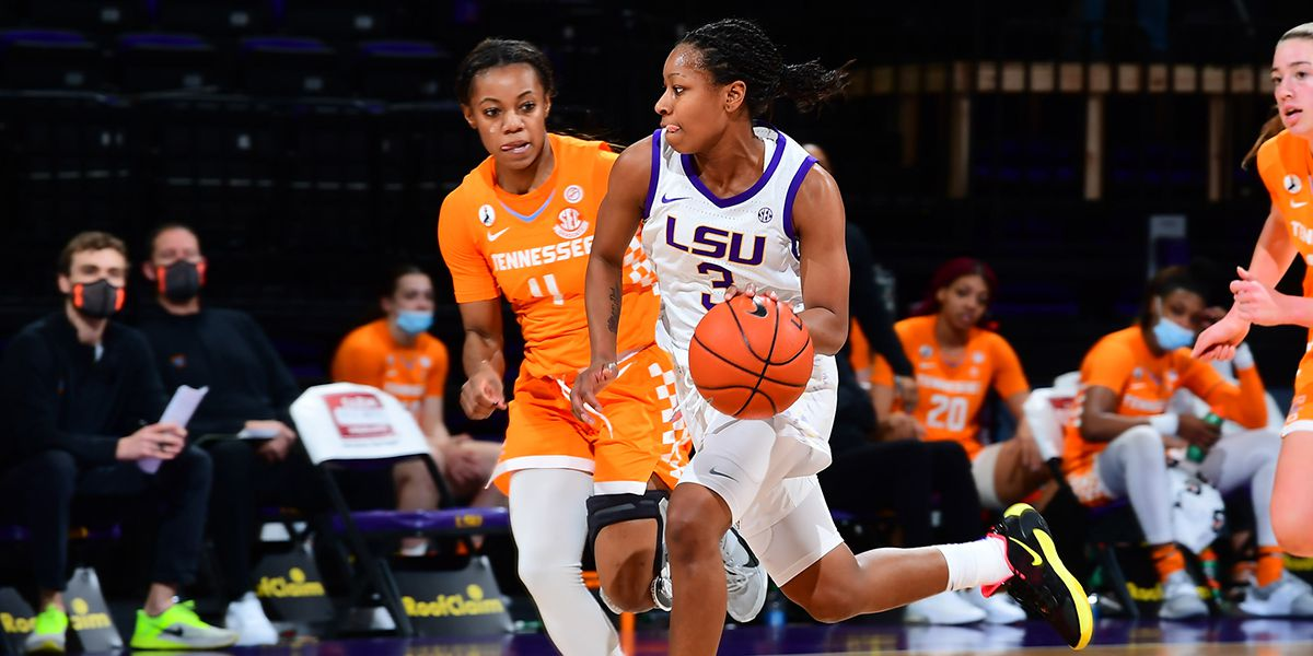 LSU comes up just short to Tennessee, 64-63