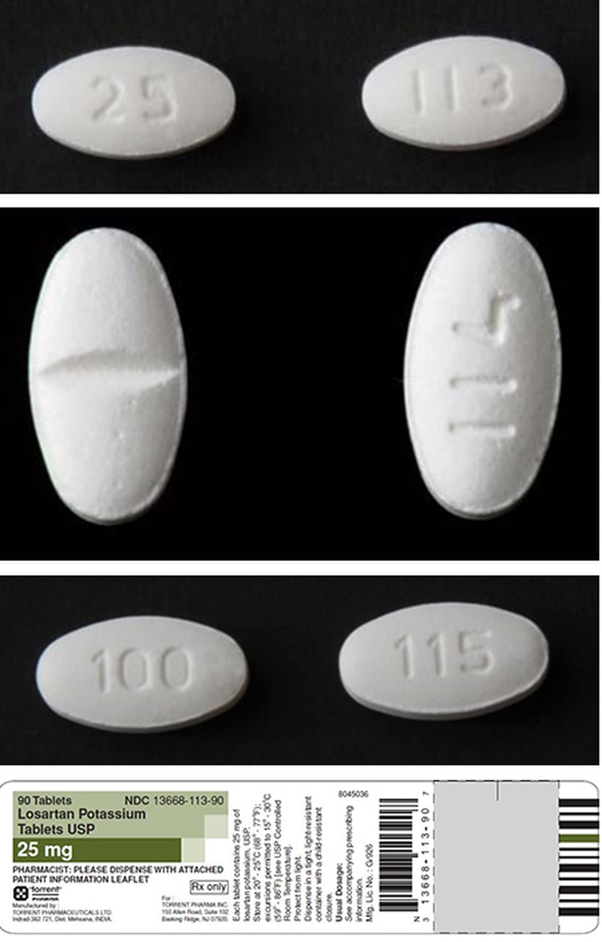 Torrent Pharmaceuticals Limited Expands Recall Of Losartan