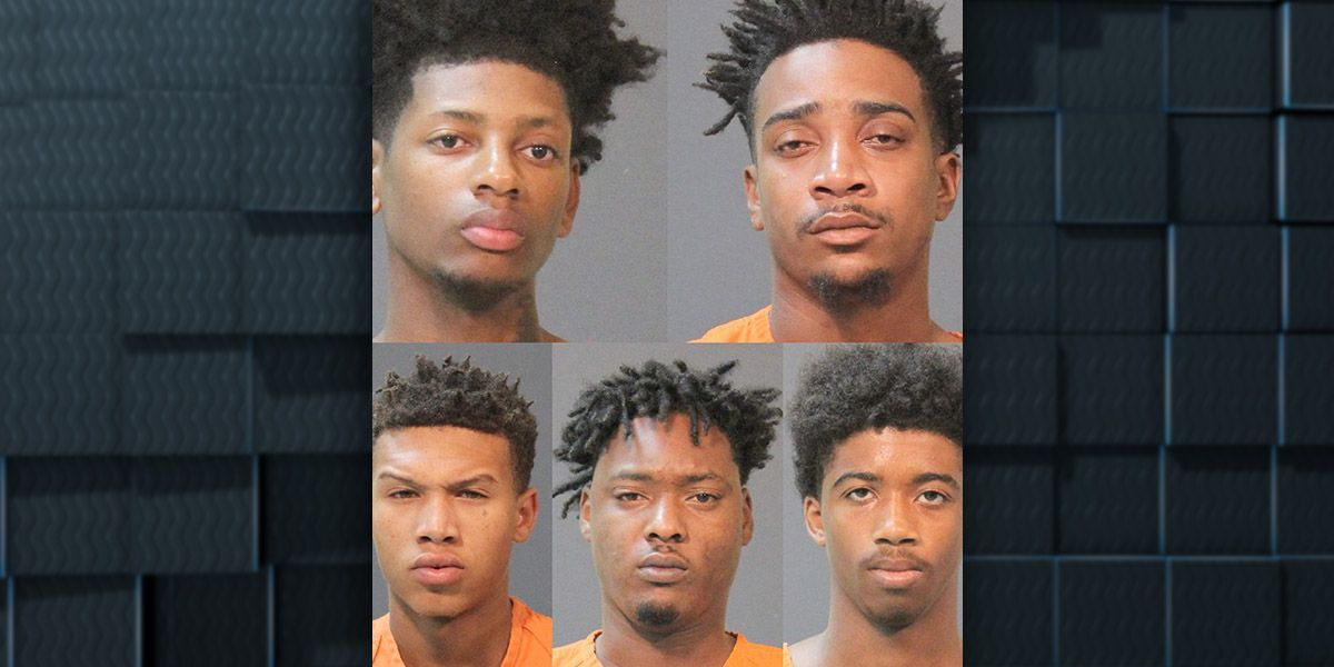 Five suspects arrested in Pryce Street shooting