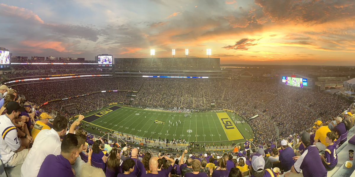 LSU set to kickoff under the lights against Texas A&M