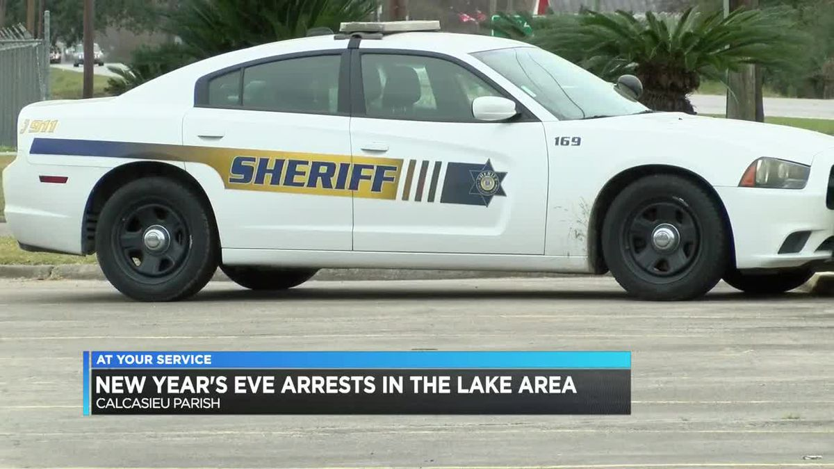 Calcasieu Parish Sheriff S Office Reports Minimal Arrests On New Year S Eve