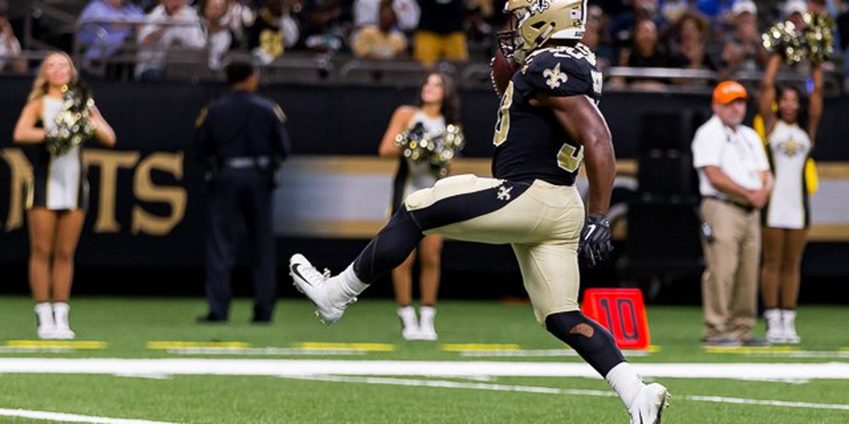 Report: Eagles sign RB Boston Scott off Saints practice squad