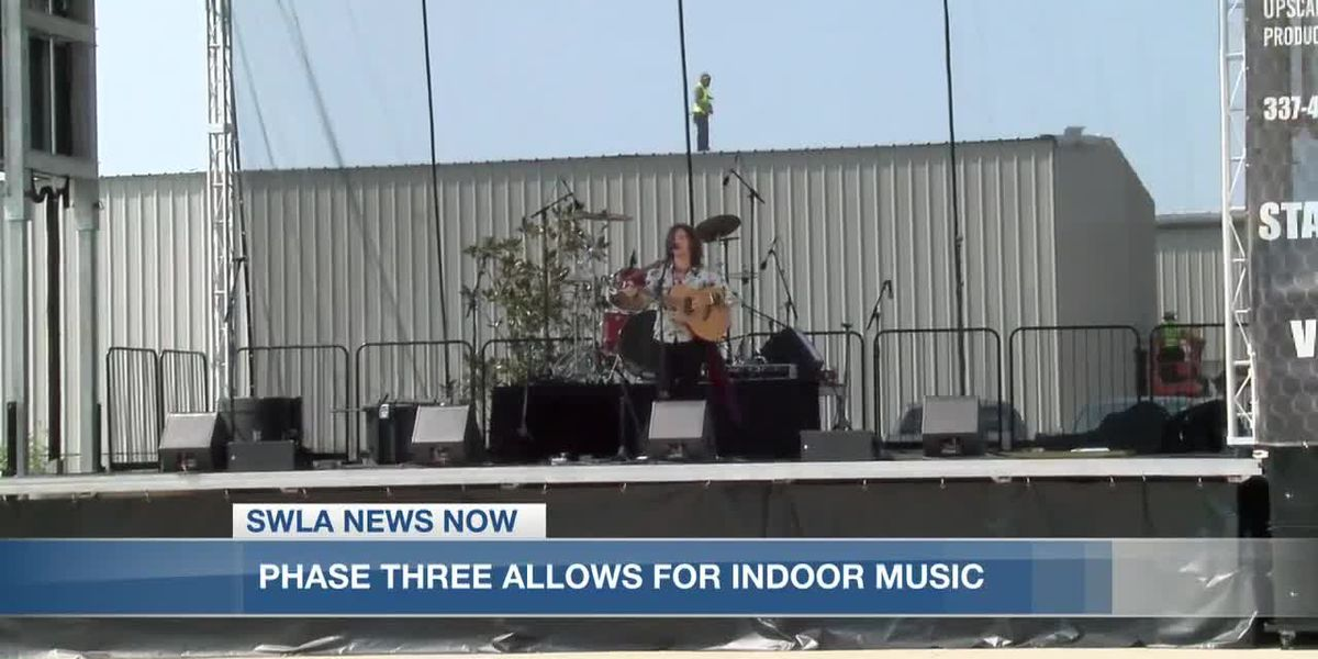 Local businesses looking forward to live music in Phase 3