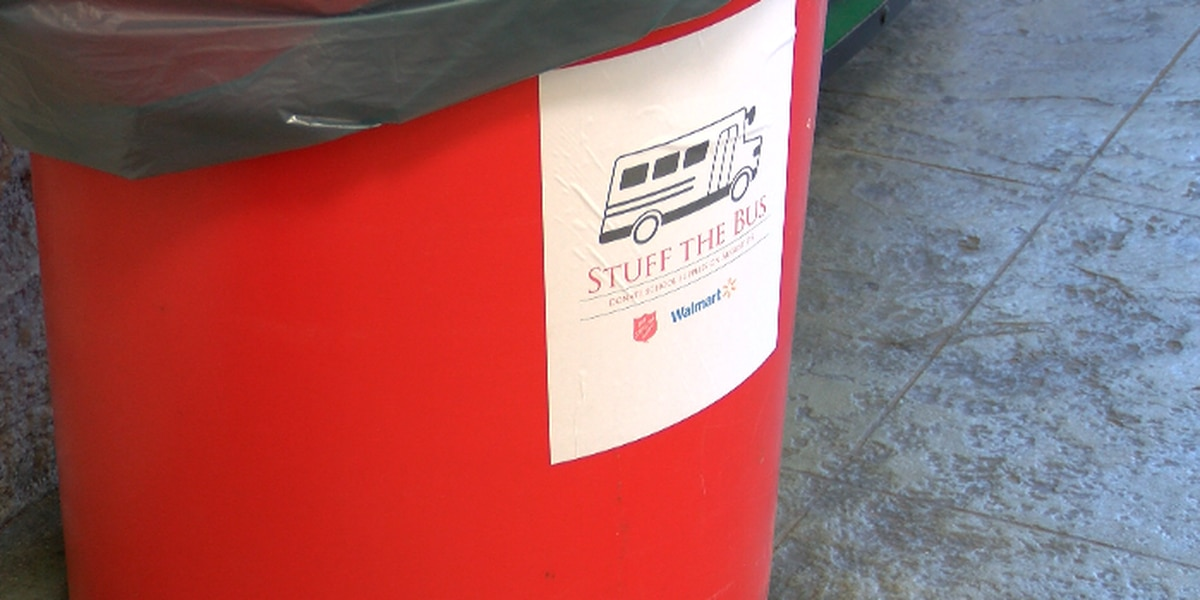 'Stuff the Bus' for local kids in need