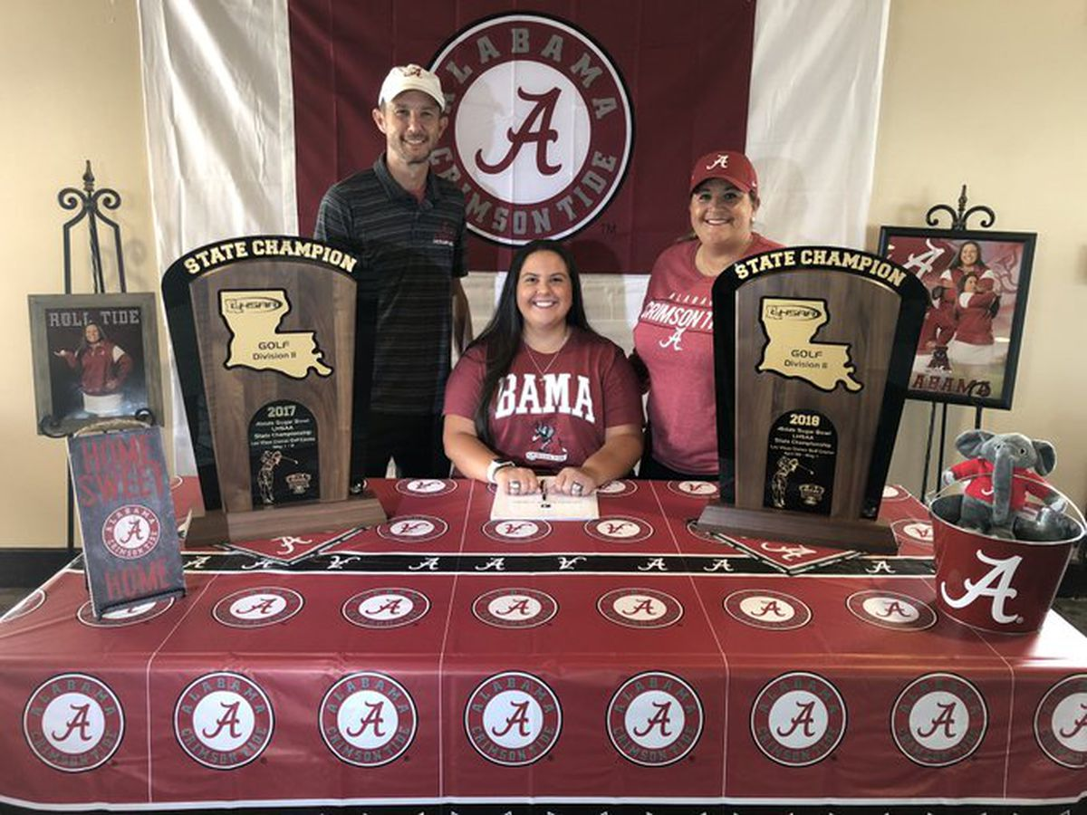 Lacassine's Carly Whittington re-classifies to 2019, signs with Alabama