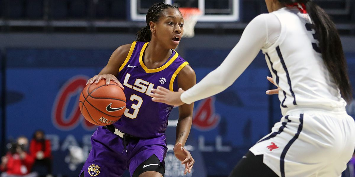 LSU improves to 2-0 in SEC play with 77-69 OT win over Ole Miss