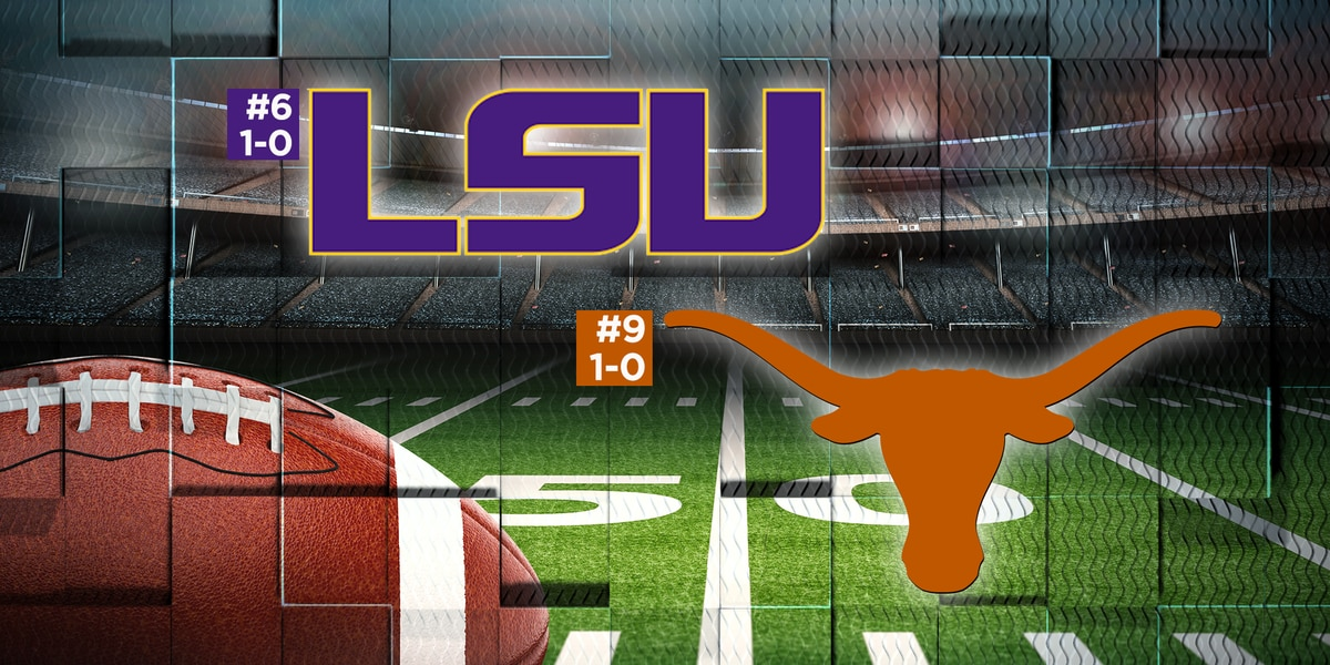 Top 25 Polls: LSU, Texas set for top 10 matchup