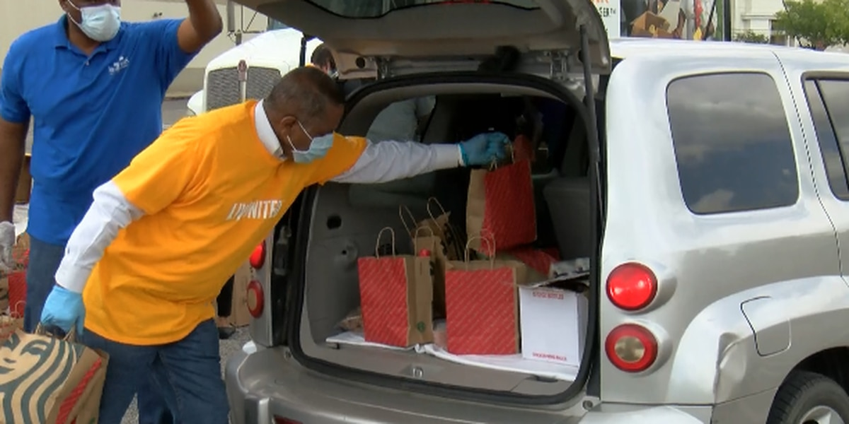 United Way of SWLA's food distribution feeds hundreds