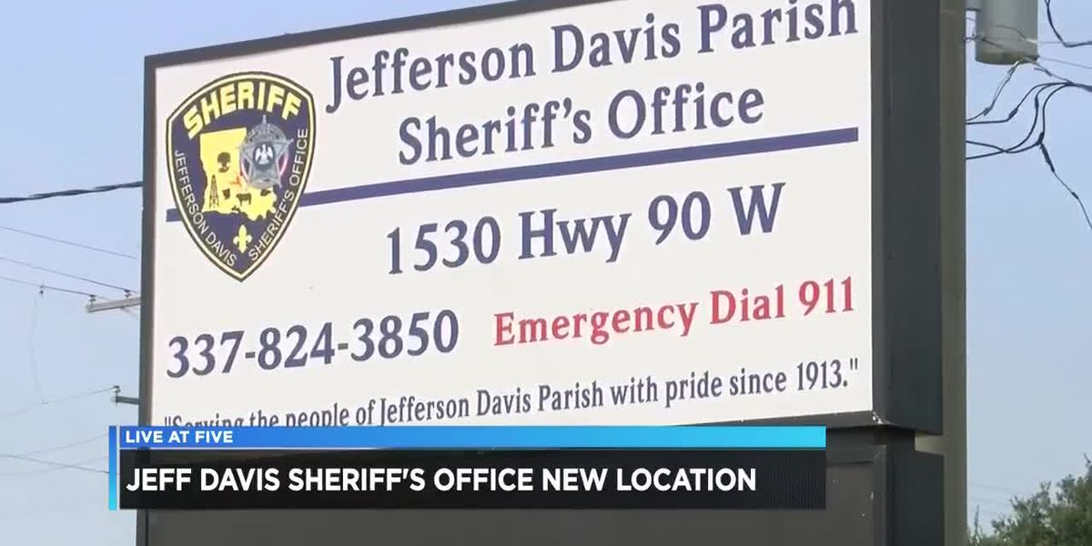 VIDEO: Jeff Davis Sheriff's Office moves to new location