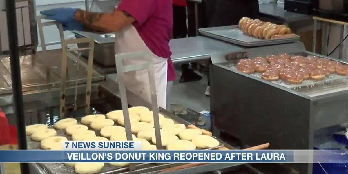 Donut King reopens following Hurricane Laura