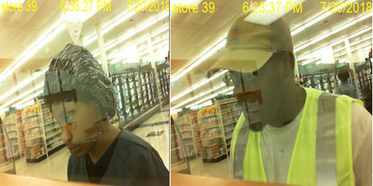 Police release images of forgery suspects