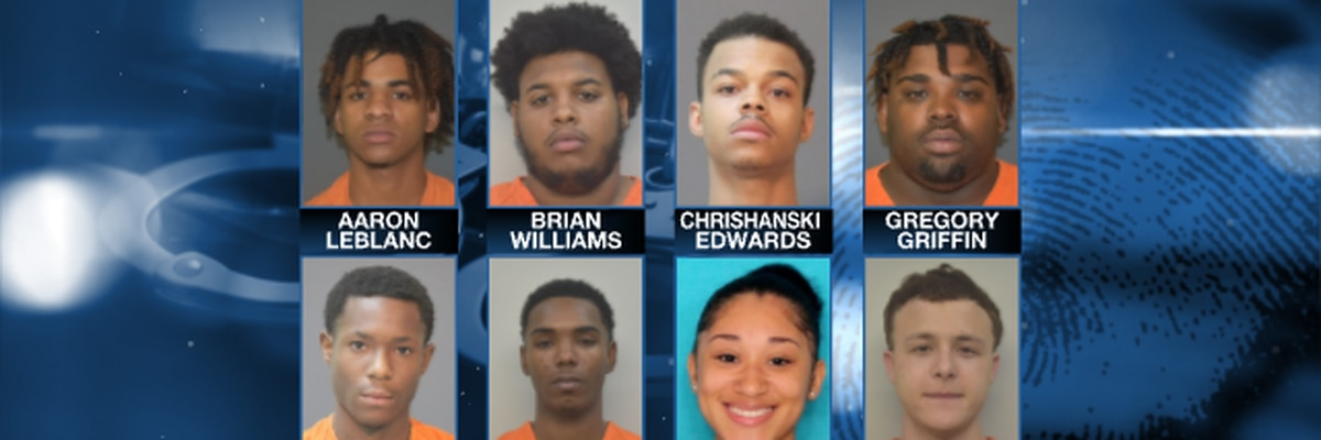 Three arrested, five sought for fraud after bank reports loss of approximately $100,000
