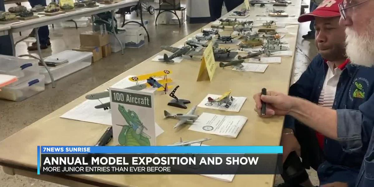 Plastic Model show sees record child attendance
