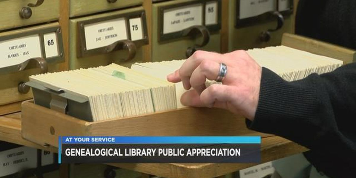 Library hosting Genealogy open house