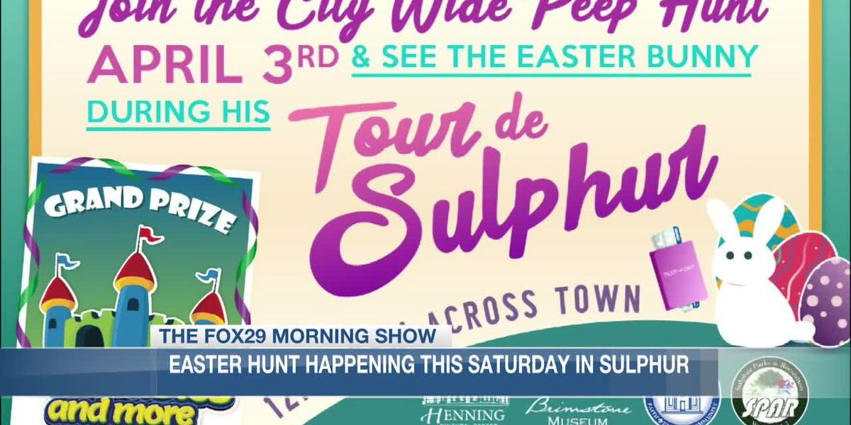 Sulphur to hold Easter hunt Saturday