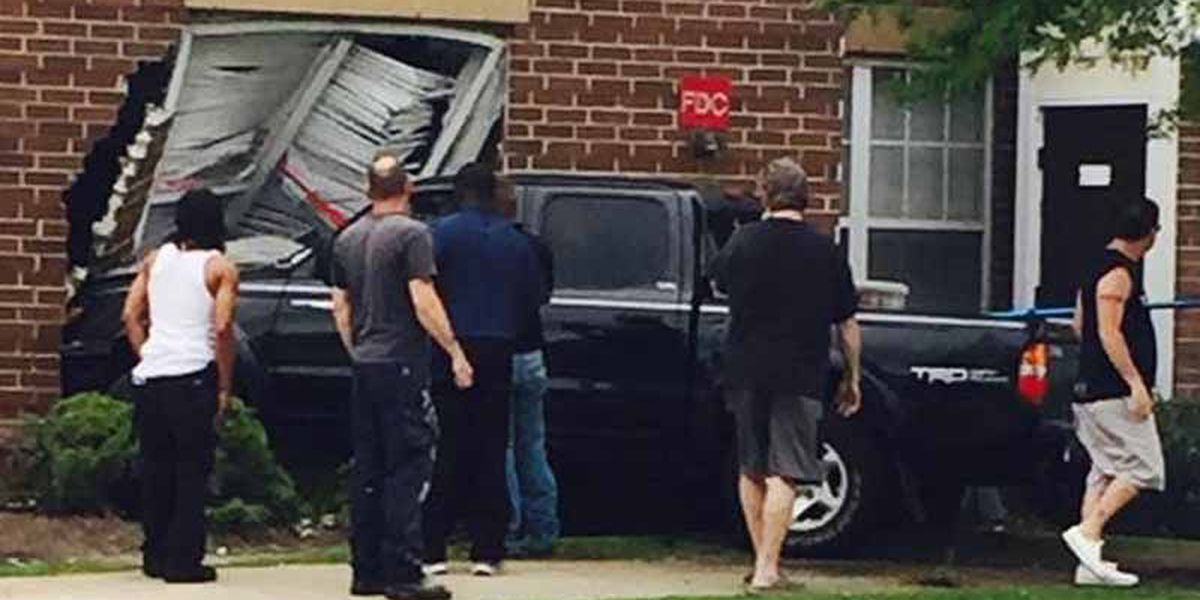 Vehicle crashes into dorm at McNeese State