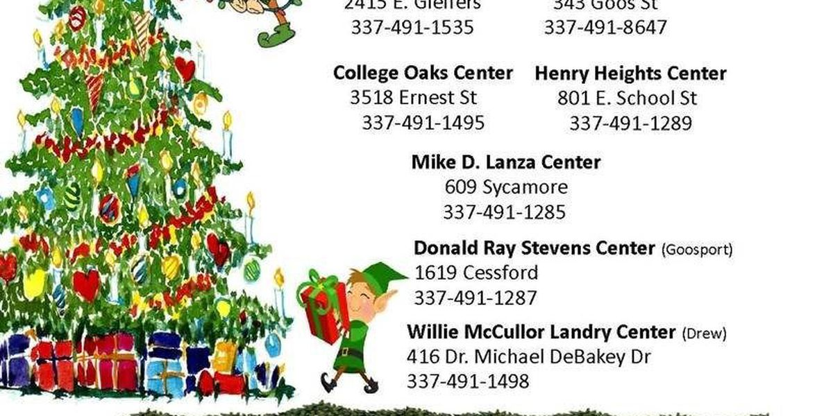 Lake Charles Recreation and Parks offering holiday camps