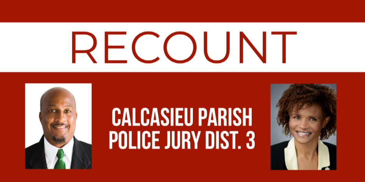 Mayo requests recount in Calcasieu police jury race decided by 31 votes