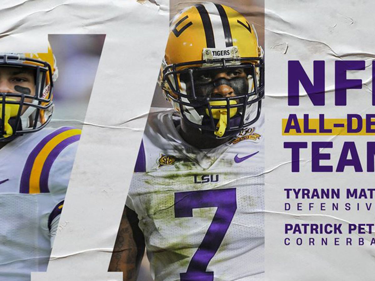 Former LSU No. 7s Mathieu and Peterson make NFL All-Decade Team for 2010s