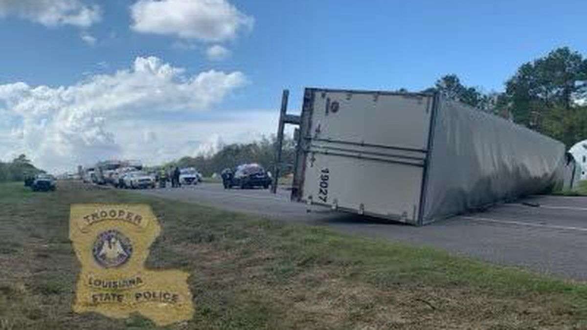 I-10 eastbound lanes now open