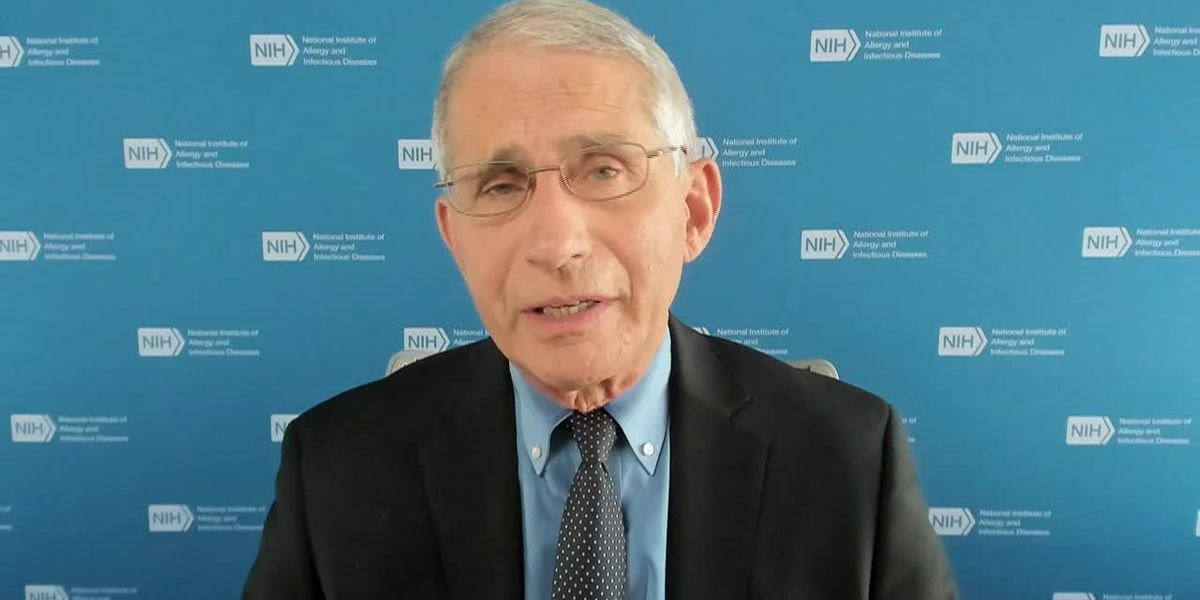 Fauci: COVID-19 vaccine by Oct. 'unlikely, not impossible'