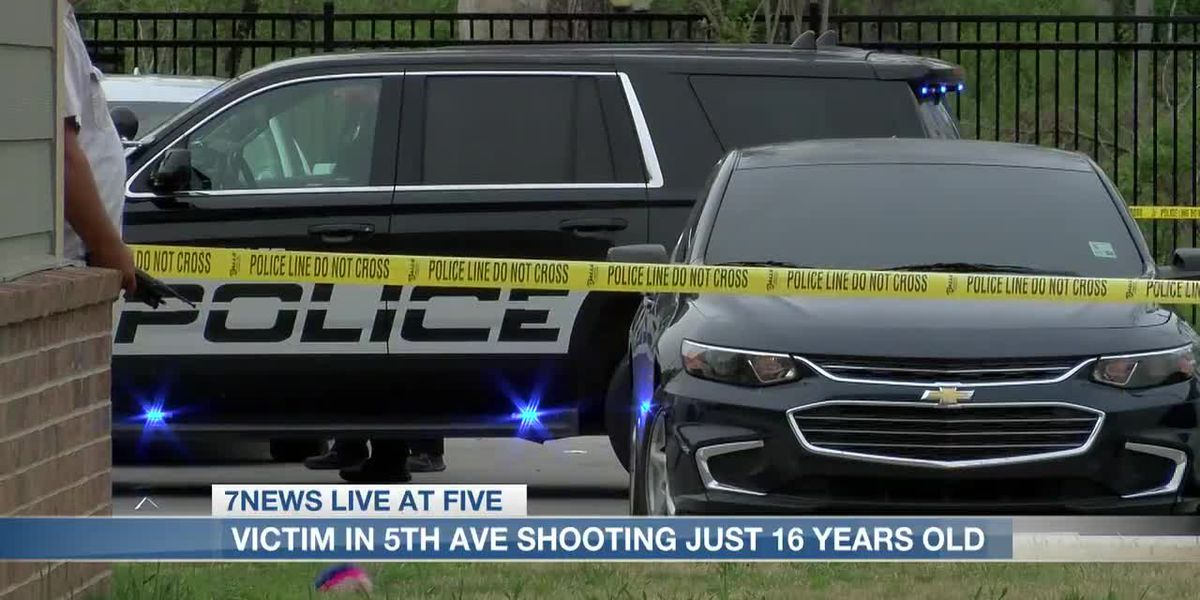 Victim in 5th Avenue shooting was 16-year-old