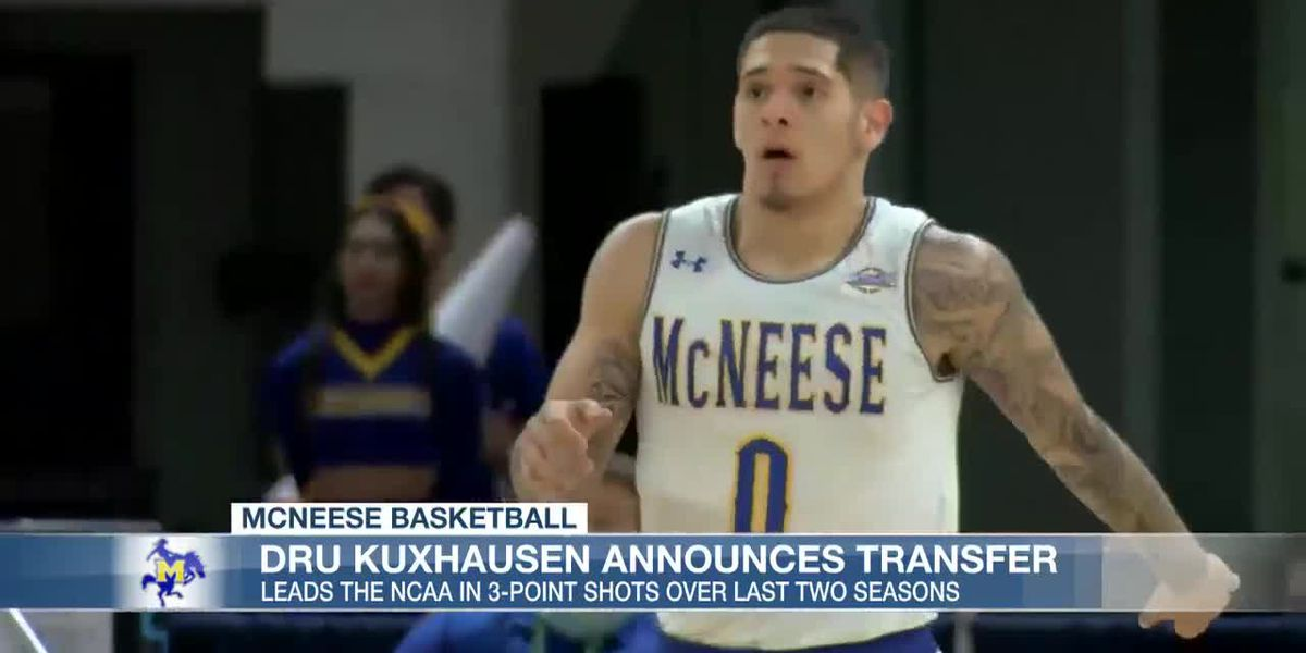 McNeese loses three-point phenom Kuxhausen, two others to transfer portal