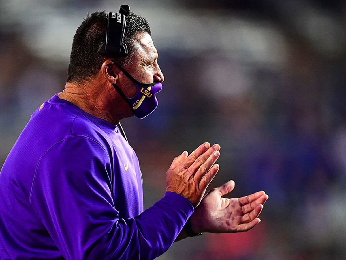 Orgeron starts interviewing candidates for LSU coordinator positions