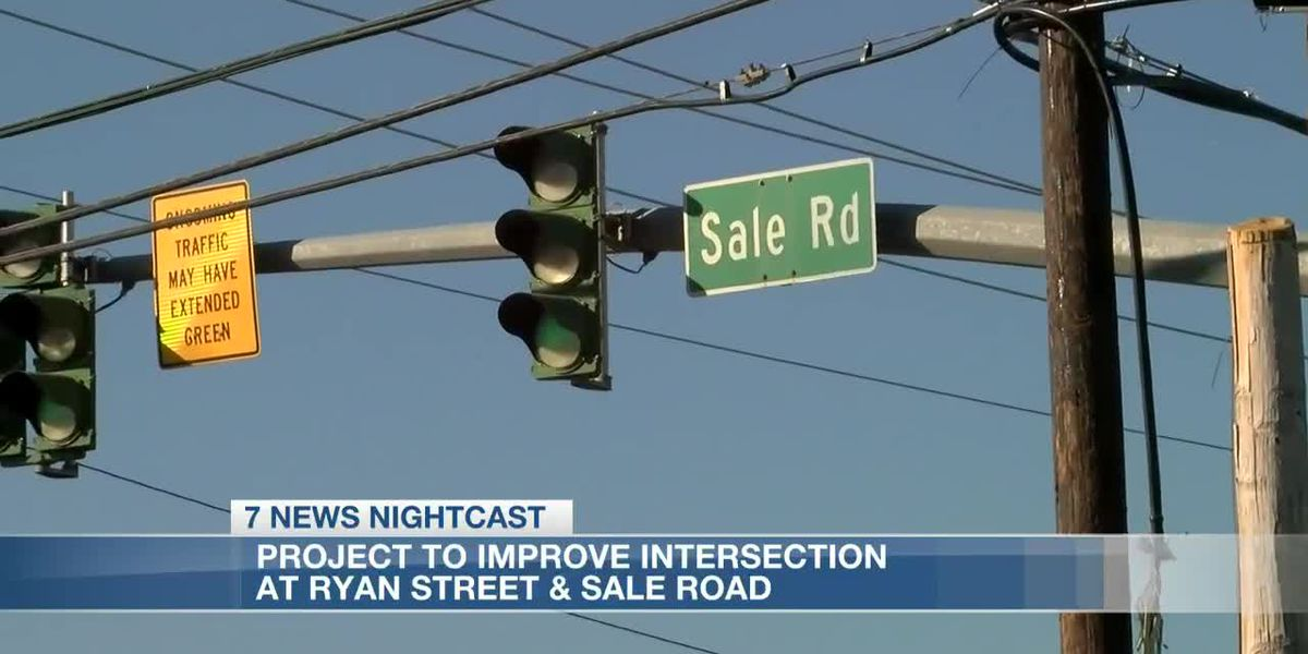 Lake Charles City Council approves funding to improve intersection at Sale Road and Ryan Street