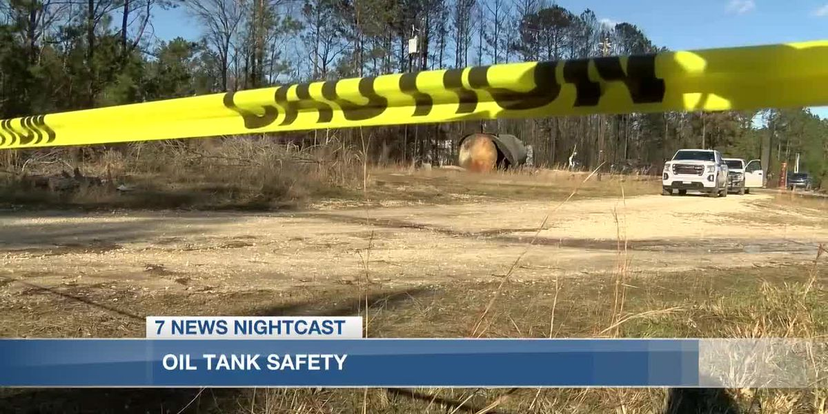 Louisiana Department of Natural Resources: Oil tank safety