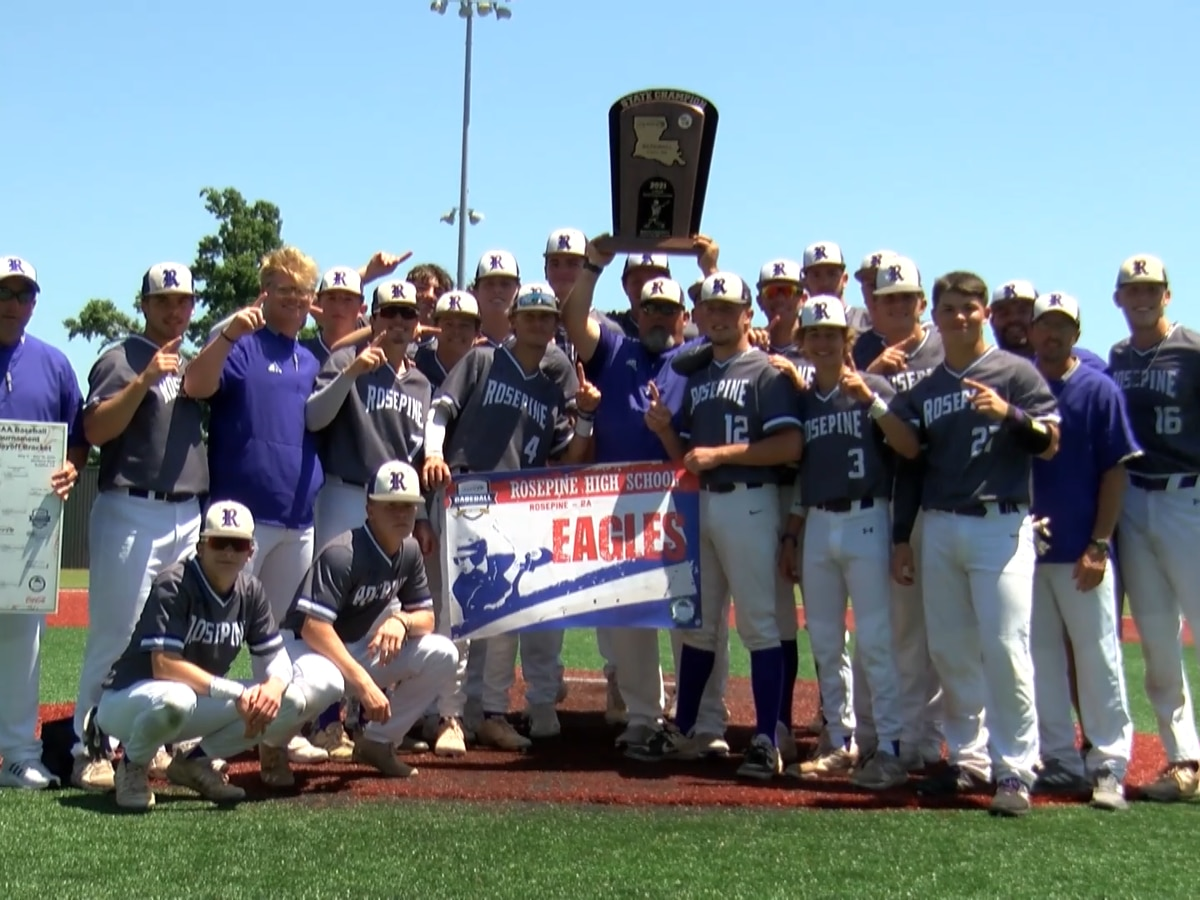 Rosepine baseball captures first state championship in program history